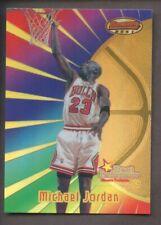 1998 Bowman's Best Refractor #96 Michael Jordan HOF Chicago Bulls