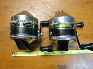 Lot of 2 Vintage Zebco Omega One,191,Ball Bearing,Ready To Fish,USA