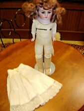 Antique Bisque Shoulder Head Heubach Doll Marked: Made in Germany Horseshoe 951