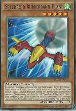 YU-GI-OH CARD: SPEEDROID RUBBERBAND PLANE - RARE - MACR-EN008