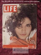 LIFE magazine July 18 1960 INA BALIN NANCY MITFORD ELMER GANTRY Swimming Pools