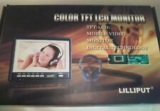 LILLIPUT  Color TFT LCD  Car Monitor w/ HDMI Connect RF Remote hr701-np