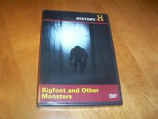 BIGFOOT AND OTHER MONSTERS Cryptozoology Yeti History Channel RARE DVD NEW