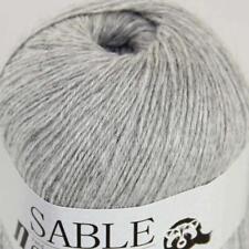Sale Super Soft Pure Sable Cashmere Shawls Fine Hand Knit Wool Crochet Yarn 02