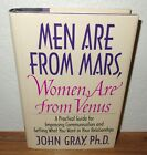 Men are from Mars, Women are from Venus book John Gray *Relationship Help Guide