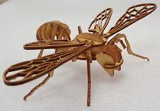 Puzzle 3D, abeille en contreplaqué, 22 cm x 14 cm x 4 cm, maquette 27 pièces
