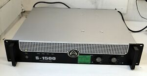 Wharfedale Pro S-1500 Two Channel Professional Amplifier