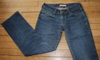LEVIS 570 Jeans pour Femme W 29 - L 30 Taille Fr 38 STRAIGHT FIT (Réf #S031)