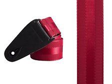 Red folk Classic Lucido Elegante Deluxe nylon Acustico Elettrico Chitarra Basso cinghia