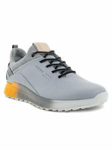 Ecco M S-Three Golf Shoes - Silver Grey -  Mens