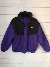 Vintage CB Sports Men's Nylon Ski Jacket Size Small Blue Great Condition 1990
