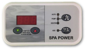 Davey Spaquip Spa Power 400, 500, 54500, 600, and 601 series digital touchpad