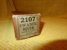 Swanee River #2107 Royal Music Roll Co. MFG << LOOK ! >>