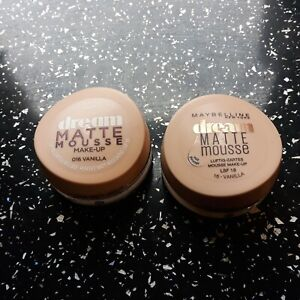 Maybelline Dream Matte Mousse 2 shades to Choose 18ml