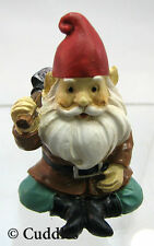 Garden Gnome Figurine Ganz Fairy Outdoor Fantasy Mini Sitting Shovel New