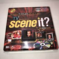 Scene It The DVD Game: TV Edition (Deluxe Edition) (DVD Video Game) New Sealed