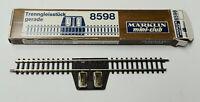 MÄRKLIN 8598 Trenngleis gerade 110mm Spur Z, gebraucht