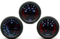 52mm AGG-1 Smoked Turbo Boost 30 PSI + Oil Temp + Volt 3 Gauge Kit