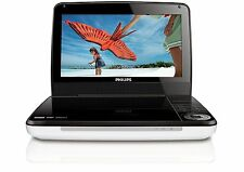 """Philips PET941D/37 Widescreen 9"""" LCD Screen Portable DVD Player Car/Home White C"""