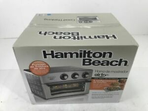 Hamilton Beach Air Fry 1800 W 6 Slice Stainless Steel Countertop Oven