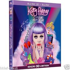 Blu-ray 3D Katy Perry Part of Me [ 2-Disc Set ] w/ Slipcover - Brand New Sealed
