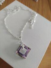 Unwanted gift Aurore Swarovski Crystal Elements Pendant chain New Warren James