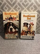 Beethoven (1991) & Beethoven's 2nd (1994) {VHS} -Pre Owned - Family Classic