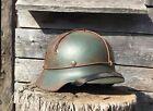 WW2 M35 German  Helmet WWII M 35. Combat helmet.