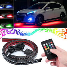 Remote control Car Underglow Rgb Led Neon Light Strip Underbody Glow kit