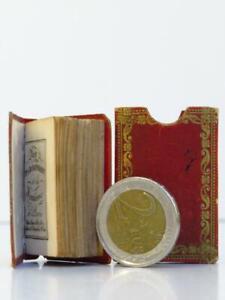 Rare minuscule Romantique ca 1830 MARCILLY Paroissien Jeunesse ENFANTINA BIBLE