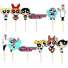 THE POWERPUFF GIRLS CUPCAKE TOPPERS Party Supplies BALLOON  SUPPLIES CAKE TOPPER
