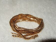 "Spiral Rope Chain 20"" Necklace 36 Grams Fine 14K Yellow Gold Lobster Claw Clasp"