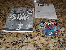 The Sims (PC) Game Windows (With Manual) & Reference Card