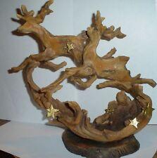 Faux Driftwood Reindeer by Roman #25398 (Cs11)