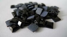 Rhinestone Hot Fix Iron on, Square Stone 6mm Glass Material Rhinestone 1gr/144pc