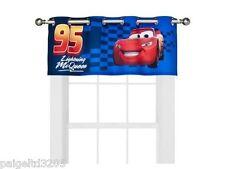"Disney Pixar Cars ""No. 95"" Lightning McQueen One Grommet  Valance"