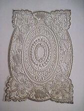 Vintage Antique Victorian Lace Sheet For Making Valentine or Other Crafts