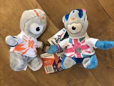 London Olympics 2012 Wenlock And Mandeville Plush Toys BNWT
