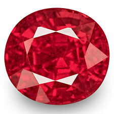 0.72-Carat Eye-Clean Fiery Rich Orangy Pink Spinel from Burma (IGI-Certified)