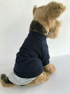 Dickens' Closet Classic Layered Look Sweatshirt for Dog Cat Pet NWOT