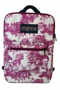"""New JanSport SuperBreak iPad Tablet 15"""" Laptop Sleeve Backpack Bag"""