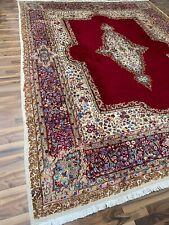 Kerman | 395 x 305 | Handgeknüpft | Orientteppich | Carpet | Rug