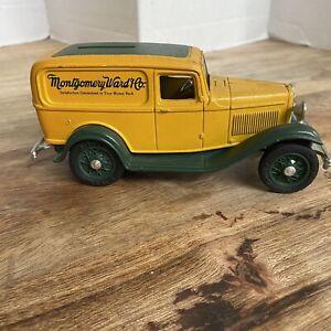 Montgomery Ward Metal Coin Bank Replica 1932 Ford Delivery Van ERTL