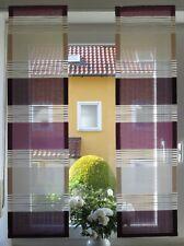 Scheibengardinen 2 x Breite 32 cm x Höhe 121/121 cm- neu - modern Gardine Paneel