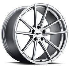 18 inch 18x9.5 TSW BATHURST Silver wheel rim 5x120 +39
