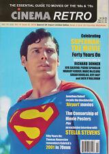 CINEMA RETRO #42 SUPERMAN: THE MOVIE; THE AIRPORT MOVIES, STELLA STEVENS