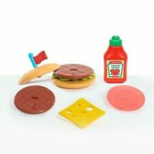 Fisher-Price Pre School 9 pc Stacking Burger Set ~ New in Box