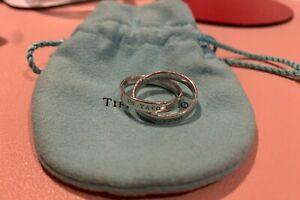 Tiffany 1837 Interlocking Circles Ring (Sterling Silver)