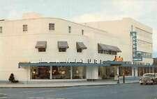 Stoneham Massachusetts Barbos Inc Street View Vintage Postcard K45706