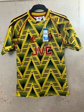 ARSENAL AWAY FOOTBALL SHIRT JERSEY 1991-1993 BRUISED BANANA ALL SIZES S M L XL